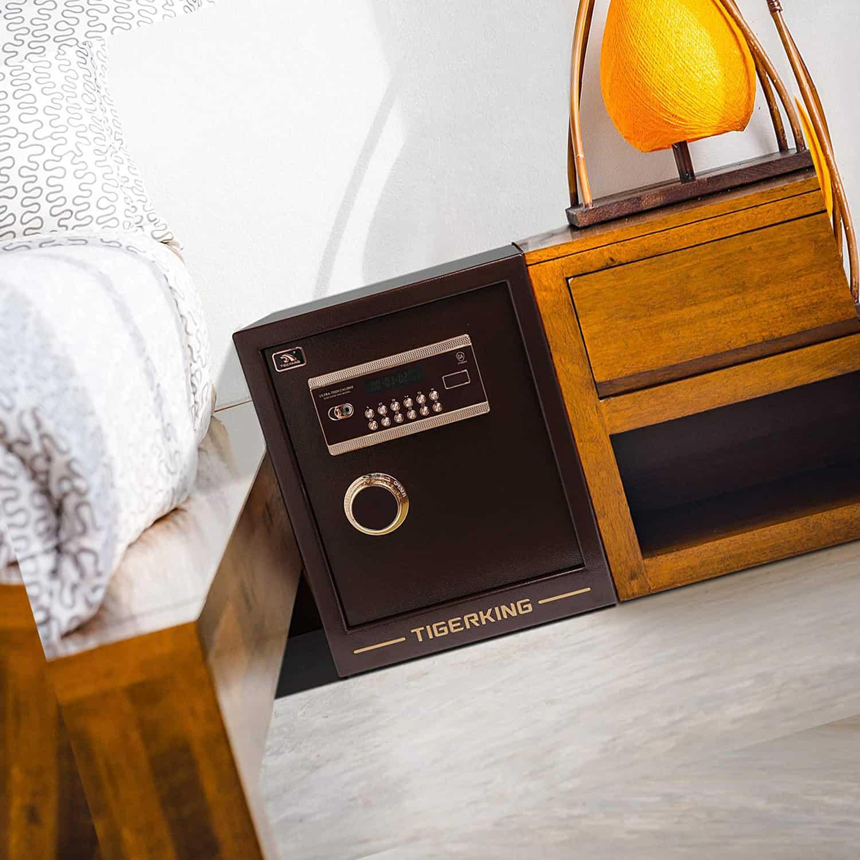 10 Best Bedside Nightstand Gun Safes 2020