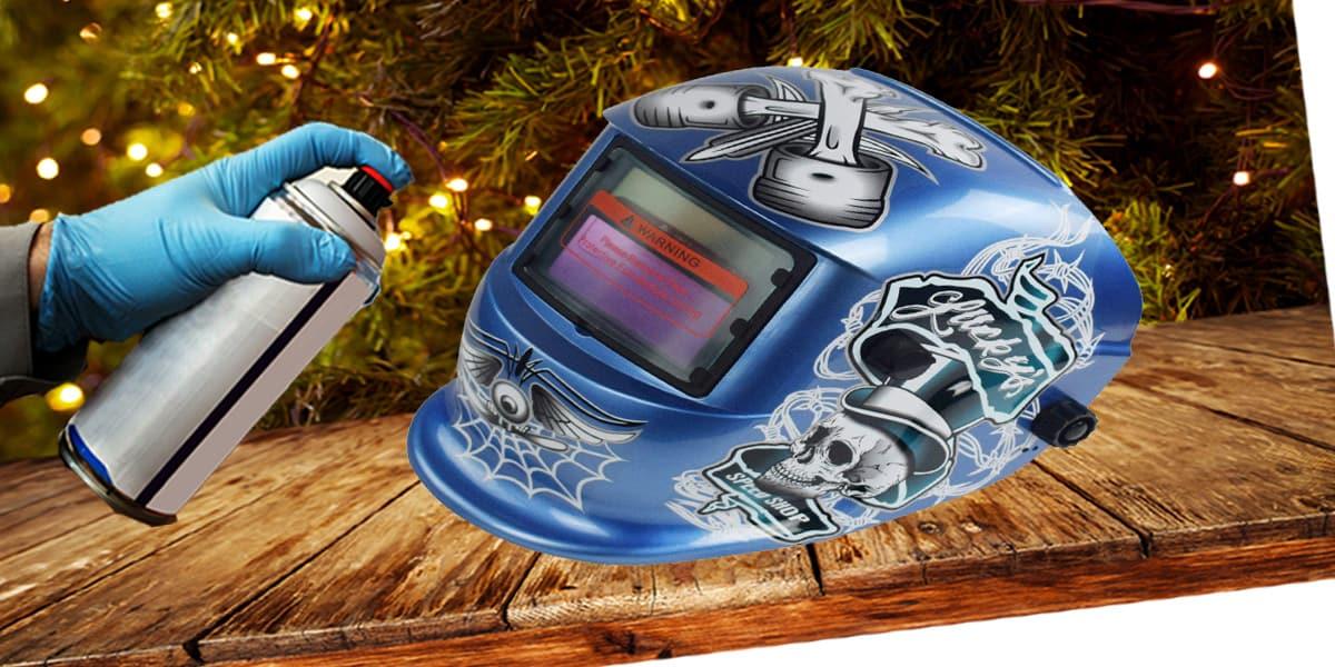 How to Paint a Welding Helmet