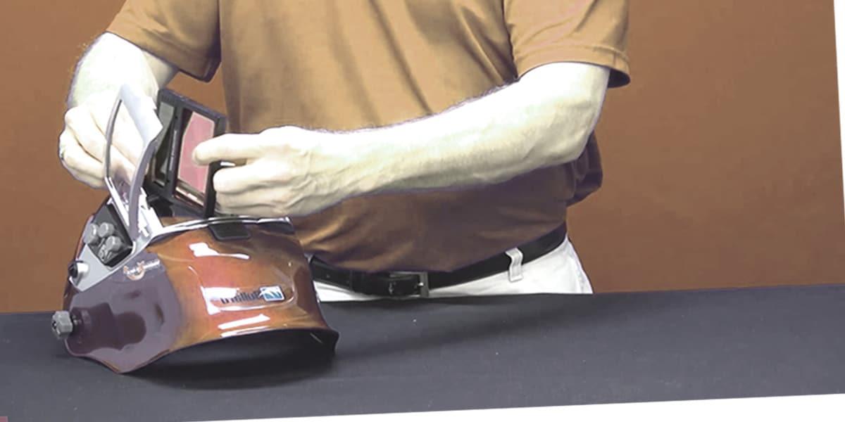 Auto Darkening Welding Helmet Battery Replacement